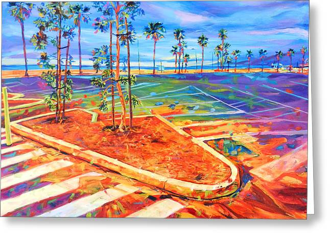 Paved Paradise Greeting Card by Bonnie Lambert