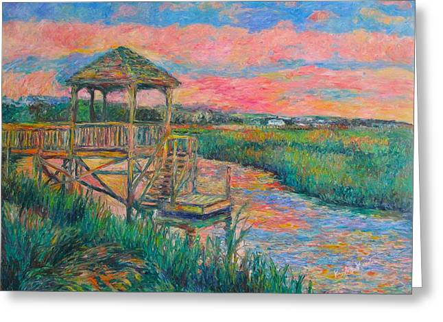 Pawleys Island Atmosphere Stage Two Greeting Card