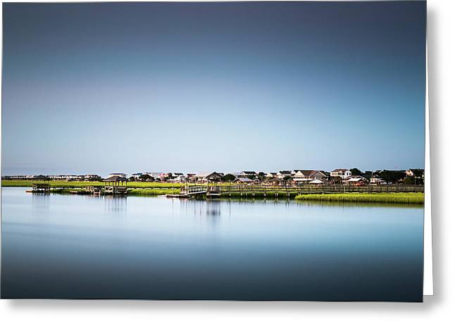 Pawleys Island North Causeway Greeting Card by Ivo Kerssemakers