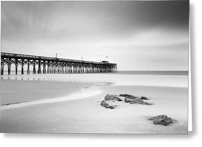 Pawleys Island Pier I Greeting Card by Ivo Kerssemakers