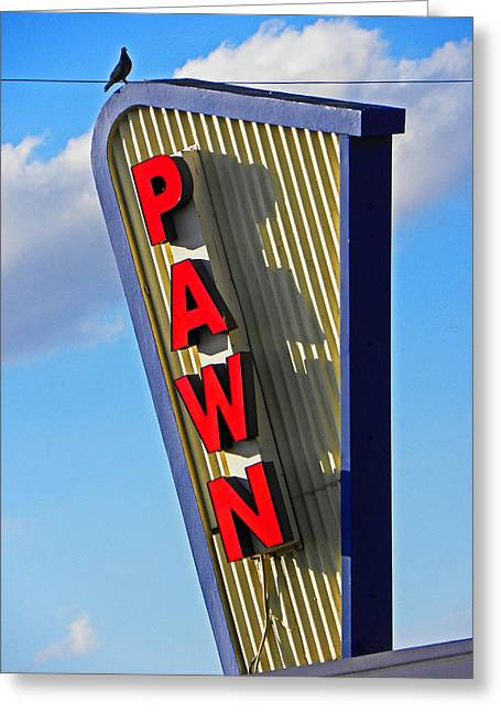 Pawn It Greeting Card