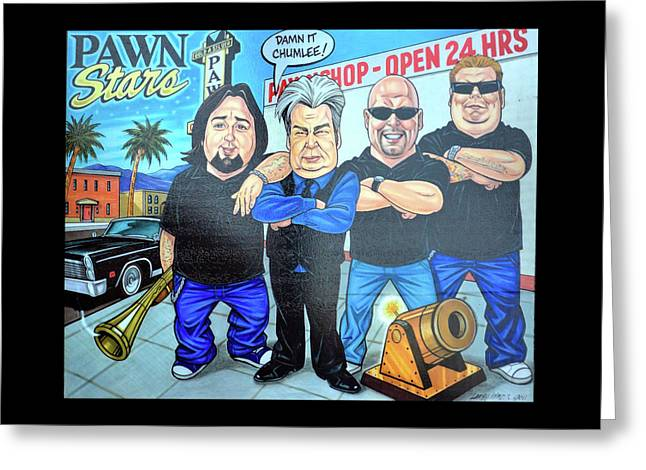 Pawn Stars In Las Vegas Greeting Card