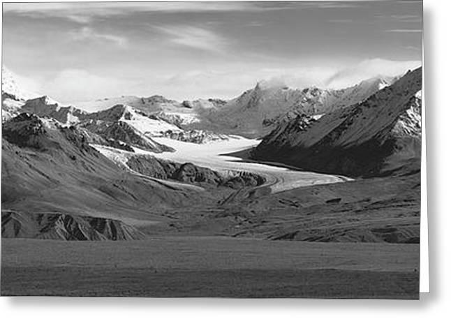 Paxson Glacier Wide Greeting Card