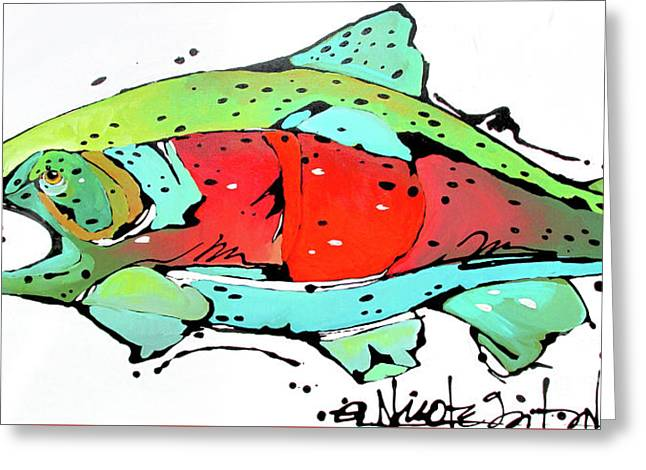 Payne The Salmon Greeting Card