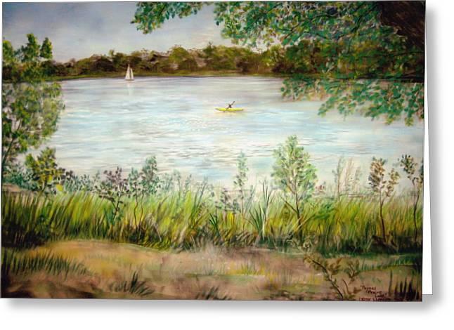 Paynes Prairie Lake Greeting Card