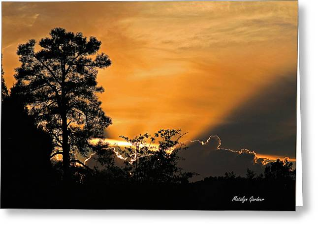 Payson Sunset Greeting Card
