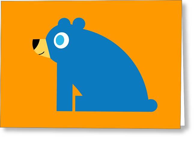 Pbs Kids Bear Greeting Card by Pbs Kids