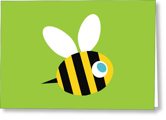 Pbs Kids Bee Greeting Card by Pbs Kids