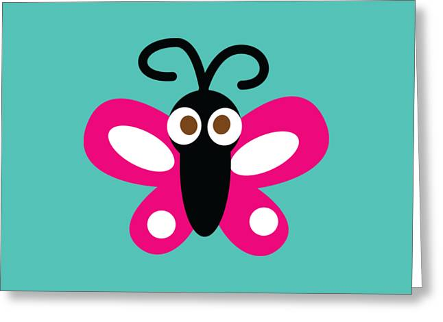 Pbs Kids Butterfly Greeting Card by Pbs Kids