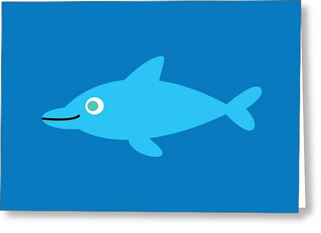 Pbs Kids Dolphin Greeting Card by Pbs Kids