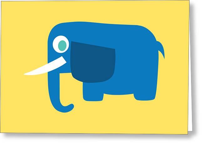 Pbs Kids Elephant Greeting Card by Pbs Kids