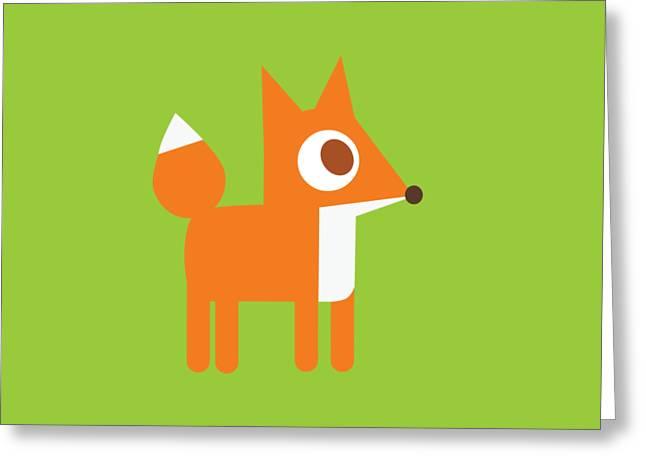 Pbs Kids Fox Greeting Card by Pbs Kids
