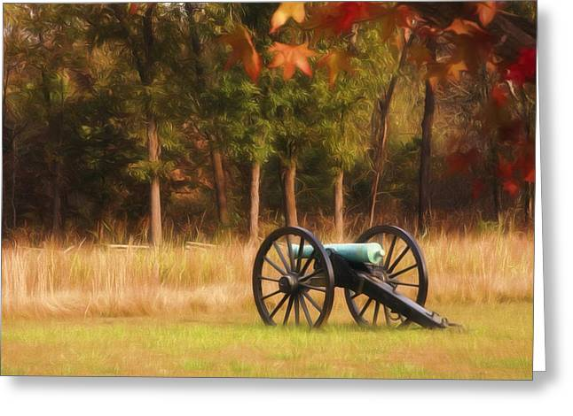 Pea Ridge Greeting Card by Lana Trussell