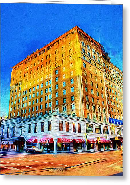 Greeting Card featuring the photograph Peabody Hotel - Memphis by Barry Jones