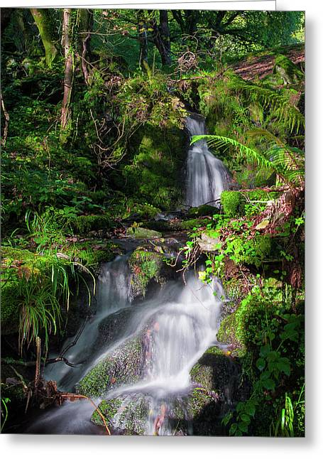 Greeting Card featuring the photograph Peace And Tranquility Too by Geoff Smith