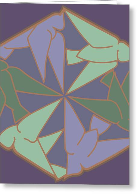 Peace Doves 6 Greeting Card