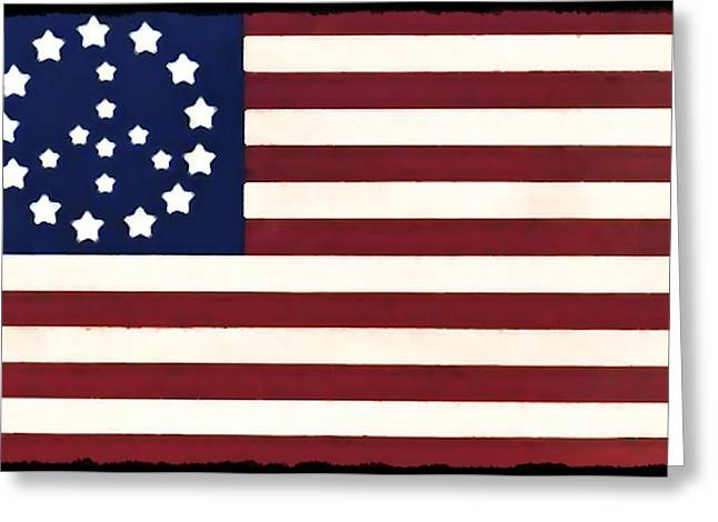 Peace Flag Greeting Card by Bill Cannon