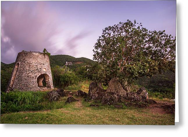 Peace Hill Ruins Greeting Card