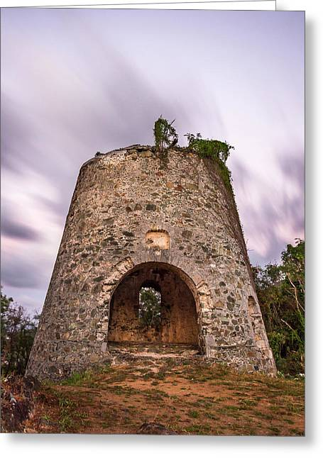 Greeting Card featuring the photograph Peace Hill Sugar Mill by Adam Romanowicz