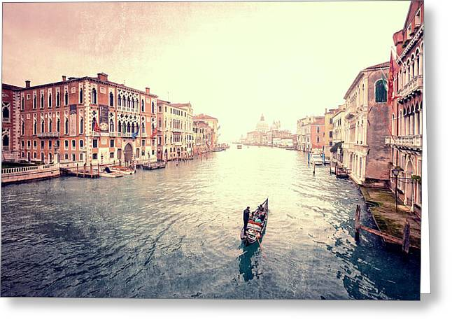 Peace In Venice Greeting Card