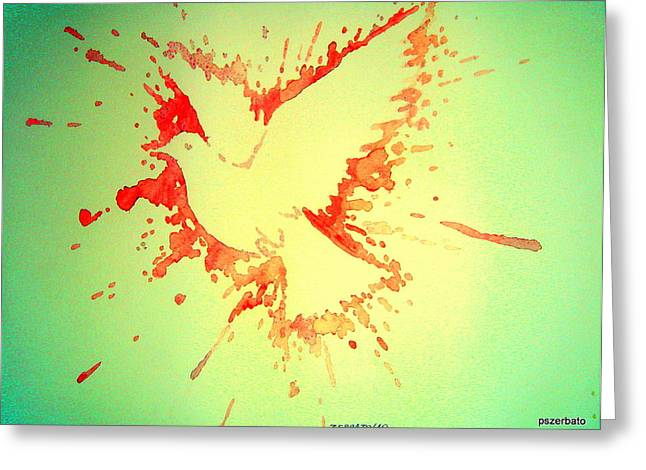 Peace Made By War Greeting Card by Paulo Zerbato
