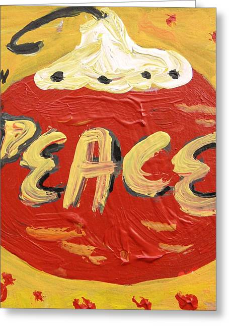 Visionary Artist Greeting Cards - Peace Greeting Card by Mary Carol Williams