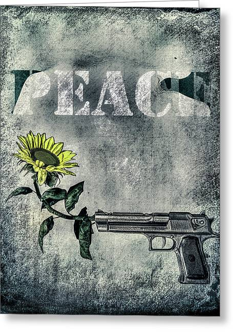 Peace Of Mind Greeting Card by Bob Orsillo