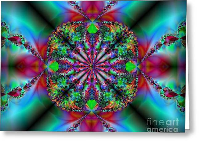 Greeting Card featuring the digital art Peace Of Mind by Misha Bean