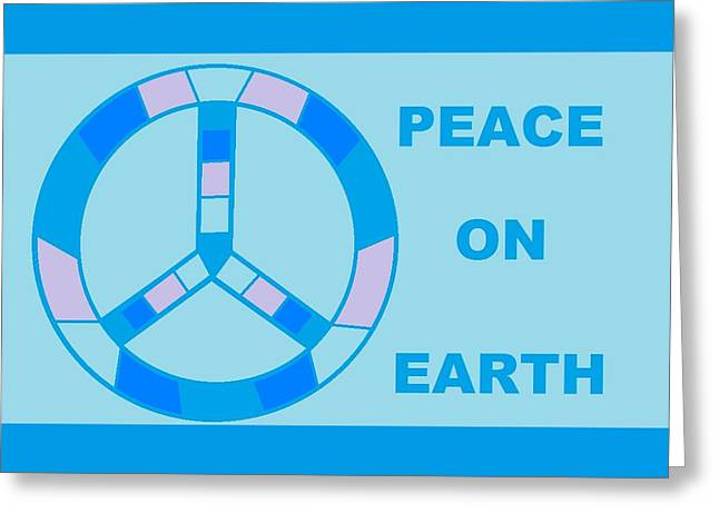 Peace On Earth 3 Greeting Card
