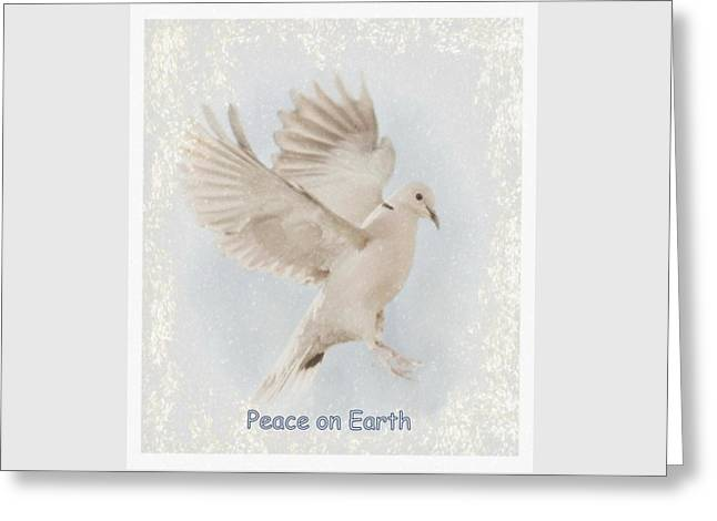 Greeting Card featuring the photograph Peace On Earth by Diane Alexander