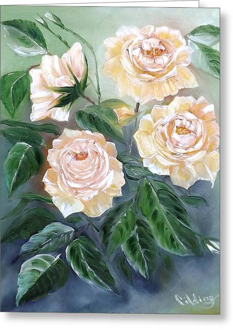 Peace Rose Greeting Card