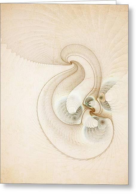 Peace Greeting Card by Talasan Nicholson
