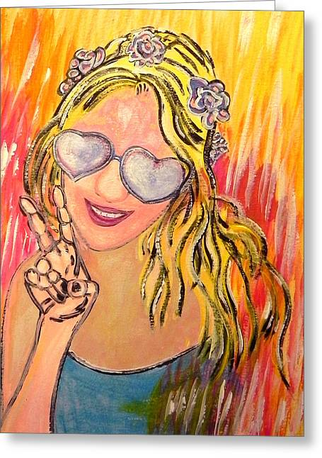 Peace  Greeting Card by W Gilroy