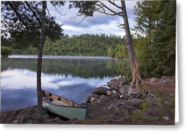 Peaceful Afternoon At Duncan Lake Greeting Card by Shari Jardina
