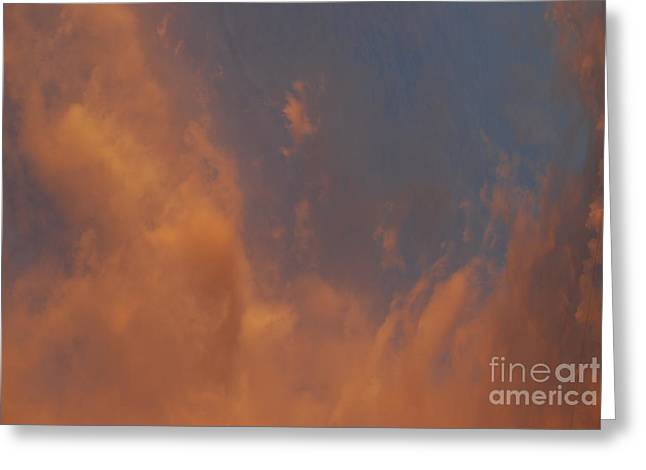 Peaceful  Dance In The Sand Storm Greeting Card by Sean-Michael Gettys