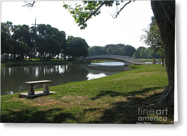Greeting Card featuring the photograph Peaceful by Greg Patzer