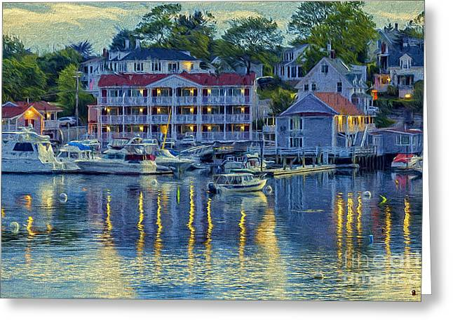 Peaceful Harbor Greeting Card