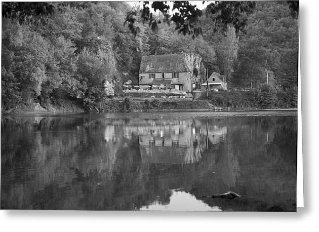 Peaceful Inn Greeting Card by Terence Davis