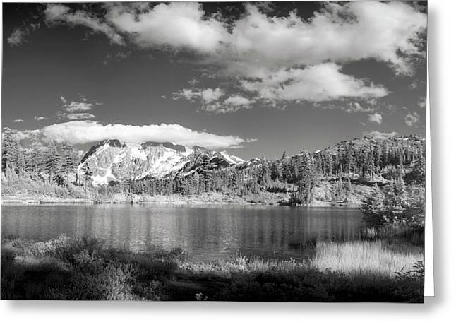 Greeting Card featuring the photograph Peaceful Lake by Jon Glaser