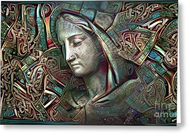 Peaceful Madonna Greeting Card