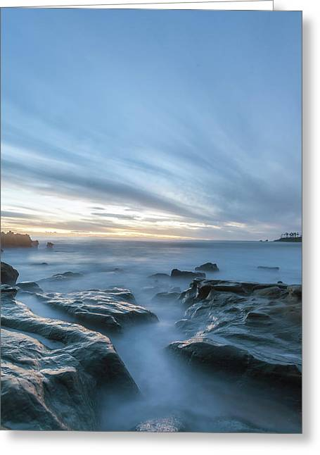 Greeting Card featuring the photograph Peaceful Ocean by Cliff Wassmann