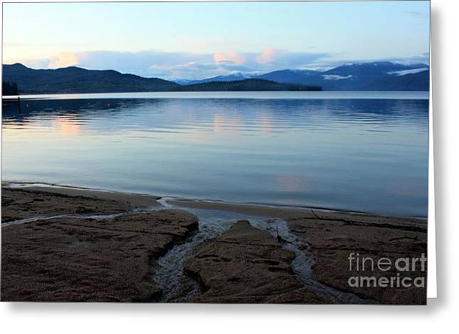 Peaceful Priest Lake Greeting Card by Carol Groenen
