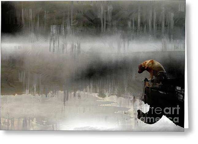 Greeting Card featuring the photograph Peaceful Reflection by Claire Bull