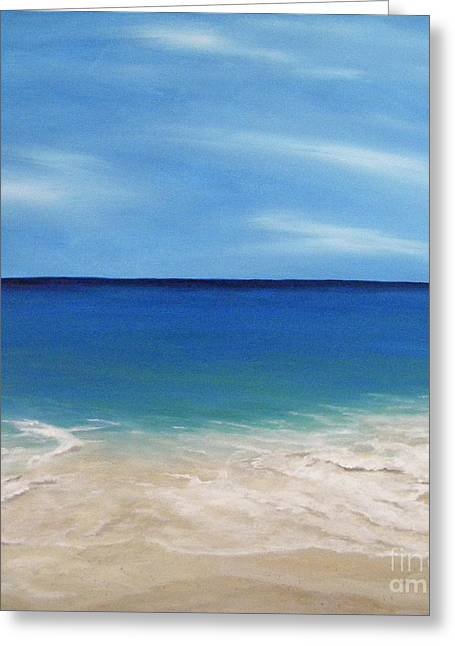Peaceful Sands Greeting Card