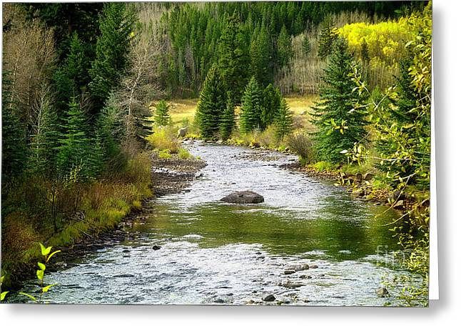 Peace Like A River Greeting Card