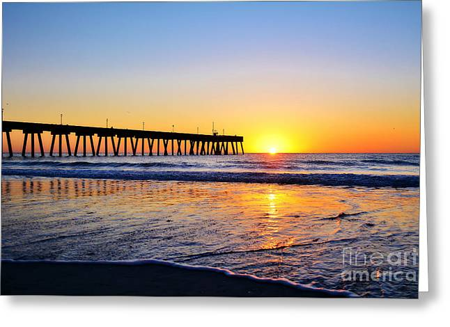 Peaceful Sunrise Greeting Card