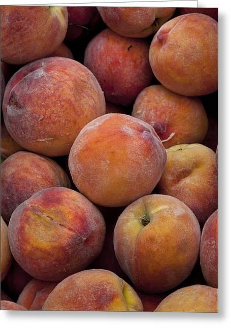 Peaches 1 Greeting Card by Robert Ullmann