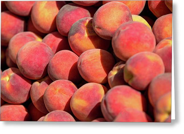 Peachy Peaches Greeting Card