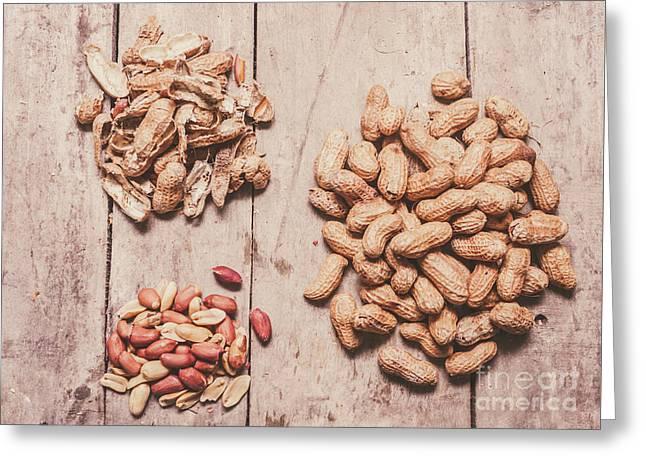 Peanut Shelling Greeting Card