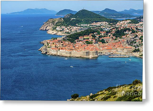 Pearl Of The Adriatic, Dubrovnik, Known As Kings Landing In Game Of Thrones, Dubrovnik, Croatia Greeting Card